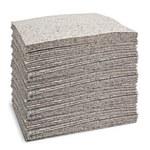 Brady Reform Gris Polipropileno Perforado 24 gal Almohadilla absorbente 110731 - Ancho 15 pulg. - Longitud 19 pulg. - 662706-89196
