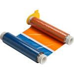Brady Powermark 51448 Negro/Azul/Naranja/Rojo Rollo de cinta de impresora - Ancho 8.8 in