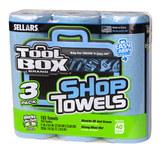 Sellars Caja de herramientas Azul 55 Toallas de papel multiusos - SELLARS 54483