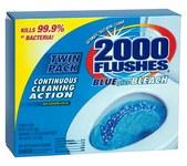 2000 Descargas Limpiador de baños - 3.5 oz Polvo - 20808
