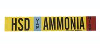 Brady 59926 Poliéster Amoníaco Marcador de tubería con correa - B-681, B-883