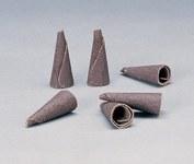 Standard Abrasives 706133 A/O óxido de aluminio AO Punta abrasiva de cono - 1.5 pulg. longitud - 41519