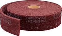 3M Scotch-Brite No tejido Óxido de aluminio Rollo de lijado - 6 pulg. ancho x 30 pies longitud - 28176