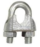Lift-All Acero galvanizado Clip de cuerda de alambre - Ancho 7/8 pulg. - 83534