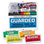 Brady Aluminio Cuadrado Cartel de seguridad nacional Blanco - 24 in Ancho x 24 in Altura - 132451