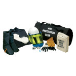 Chicago Protective Apparel Grande Kit de protección contra relámpago de arco eléctrico - AG12-CL-LG-LG
