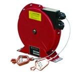 Reelcraft Industries G Series 50 ft Rojo Acero Carretes de puesta a tierra de descarga estática - longitud total 8.62 in - Ancho 3.35 in - Altura 8.81 in - 00281