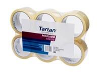 3M Tartan 3690-6 Cinta de sellado de cajas Transparente - 1.88 pulg. Ancho x 54.6 yd Longitud - 32591