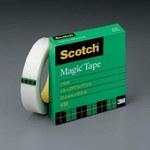 3M Scotch 810 Magic Cinta de oficina Transparente - 1/2 pulg. Ancho x 2592 pulg. Longitud - 69149