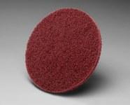 3M Scotch-Brite No tejido Óxido de aluminio Disco de cambio rápido - Accesorio Roloc TS - Diámetro 2 pulg. - 15917