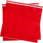 Brady Rojo Tyvek Muñequera de identificación 95097 - Adhesivo - Ancho 1 pulg. - 754476-90896