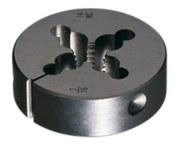 Greenfield Threading 382 5/16-18 UNC Troquel redondo ajustable - Corte de mano derecha - 0.375 pulg. Grosor - Acero al carbono - 402019