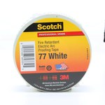 3M Scotch 77 White-1-1/2x20 ft Cinta aislante Blanco - 1 1/2 pulg. Ancho x 20 pies Longitud - 30 mil Grosor - 60334