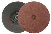 Weiler Óxido de aluminio Disco de desbaste - Mediano grado - Accesorio Eje - Diámetro 3 pulg. - 59305