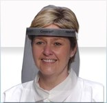 Alpha Pro Tech Critical Cover Coverall Protector facial completo - Ajuste Banda Cómoda - Antiempañante - ALPHA PRO 2807