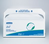 Scott Fibra 5000 Cubireta de papel para inodoro - longitud total 17 pulg. - Ancho 14.5 pulg. - 39000