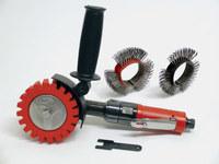 Dynabrade DynaZip rojo autobrade 18256 Kit de herramientas de lijado