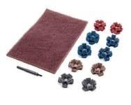 Standard Abrasives 800025 Mini kit de bruñido en cruz - 33026