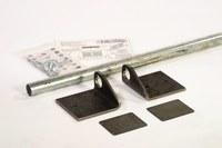 Eagle Negro/Plateado Polietileno de alta densidad (HDPE) Kit de muelle conector - 00264