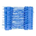 Brady Azul Sello no adhesivo indicador a prueba de manipulaciones - Longitud 9 in - 754476-95143