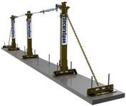 DBI-SALA SecuraSpan Kit de protección contra caídas - Longitud 50 pies - 840779-00499