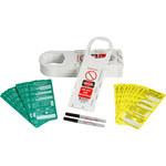Brady Scafftag SCAF-STH132A Kit de etiqueta de andamio - 14261
