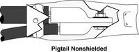 3M 5316 Negro EPDM Kit de empalme de plomo del motor - 08313