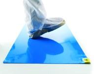 Texwipe CleanStep Alfombra de piso Azul - 18 pulg. Ancho x 36 pulg. Longitud - AMA183681B