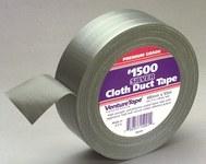 3M Venture Tape 1500 Cinta de embalar Plateado - 48 mm Ancho x 55 m Longitud - 10 mil Grosor - 50004