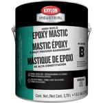 Krylon industrial Coatings K0686 Transparente Epoxi - Líquido 1 gal Cubeta - Una pieza Base (Parte B) 1:1 relación de mezcla - 02435