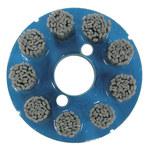 Weiler Carburo de silicio Disco de cerdas - Mediano grado - Accesorio Eje - Agujero Central 7/8 pulg. - 85788