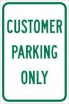 Brady B-959 Aluminio Rectángulo Cartel de información, restricción y permiso de estacionamiento Blanco - 12 pulg. Ancho x 18 pulg. Altura - 112625