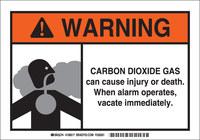 Brady B-401 Poliestireno Rectángulo Señal de advertencia química Blanco - 10 in Ancho x 7 in Altura - 106017