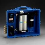 3M 256-02-01 Azul Panel de filtración de aire PAPR y SAR - Filtración de Olor, Partículas - 100 cfm Flujo de Aire Máx - Portátil - Portátil - 051138-72122
