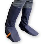 Chicago Protective Apparel Azul Grande Indura Ultrasoft Pantalones resistentes al fuego - SW-401-32 LG