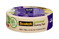 3M Scotch 2025 Greener Cinta de pintor/enmascarar Tostado - 1.41 in Ancho x 60.1 yd Longitud - 87018
