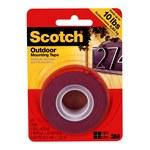 3M Scotch 411DC Cinta de montaje de espuma Gris - 1 pulg. Ancho x 5 pies Longitud - 47103