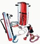 DBI-SALA Rollgliss R250 Rojo Kit de rescate de poste - Longitud 33 pies - 840779-00288