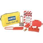 North Amarillo Nailon Kit de bloqueo/etiquetado - Material de contenedor Nailon - HONEYWELL LK111FE