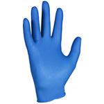 Kleenguard Kleenguard G10 Azul ártico Grande Nitrilo Guantes desechables - Grado Alimento, Industrial - acabado Con textura - Longitud 9.5 pulg. - 036000-90098