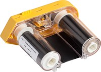 Brady M61-R6610 Negro Cartucho de etiquetas para impresora de transferencia térmica continua - Ancho 2 pulg. - Longitud 75 pies - 58056