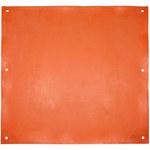 PIP Novax Naranja Caucho Manta aislante eléctrica - Longitud 36 pulg. - Ancho 36 pulg. - 187-4