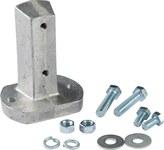 Brady Aluminio Juego de herrajes para Señalamientos - 145962