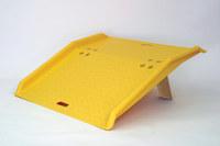 Eagle 750 lb Amarillo Polietileno de alta densidad (HDPE) Placa conectora - longitud total 36 pulg. - Ancho 35 pulg. - Altura 5 pulg. - 00247