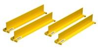 Justrite Liner de plastico desechable para cubeta - longitud total 18 in - Ancho 2.03125 in - 26827
