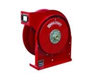 Reelcraft Industries Serie TW5000 25 ft Rojo Acero Carrete de manguera de soldadura de gas - longitud total 13.75 in - Ancho 6 in - Altura 14.5 in - 00158