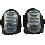 PIP 291-1XX Negro/Transparente Universal EVA Poliéster Protector de Rodilla - Ancho 7.8 pulg. - Longitud 9.6 pulg. - 616314-81705