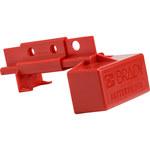 Brady 175A a 350A Rojo Bloqueo de enchufe eléctrico 150841 - Ancho 3.15 pulg. - Altura 5.25 pulg. - 754473-62378