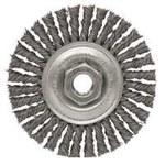 Dynabrade Acero Cepillo de rueda - Accesorio Eje - Diámetro de la cerda 0.02 in - 78806