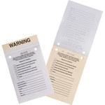 Brady Parking Violation Label - 86352